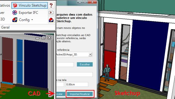 Do CAD para Sketchup