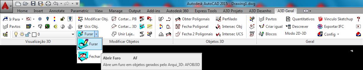 Ribbon A3DGeral do Active3D