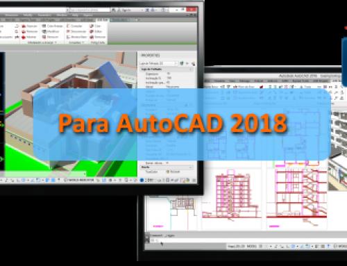 Instaladores do Active3D e Arqui_3D para AutoCAD 2018