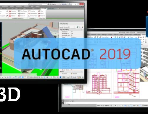 Instaladores do Active3D e Arqui_3D para AutoCAD 2019